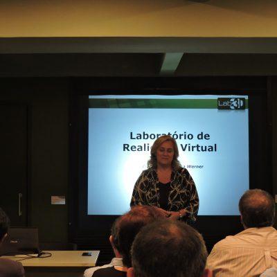 Apresentação da professora Claudia Werner