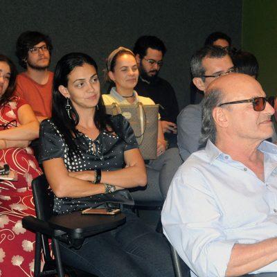 Foto da plateia que acompanhou a apresentação