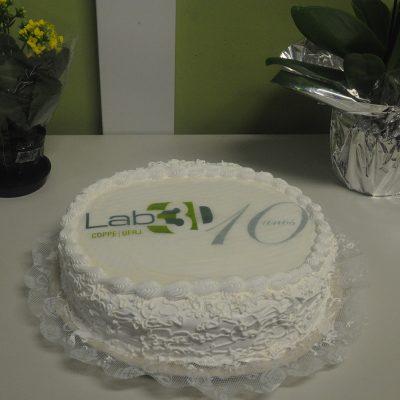 Foto do bolo comemorativo